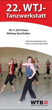 Zur Anmeldung Tanzwerkstatt 2019!