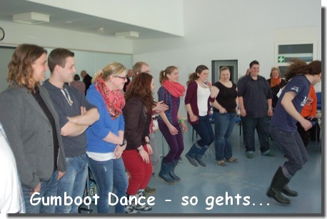 gumboot dance - so gehts